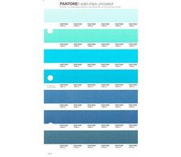 Pantone PMS Solid Chips vervangingspagina op uncoated papier 158U, kleurnummers 7464U - 7465U - 7466U - 7467U - 7468U - 7469U - 7470U