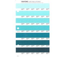 Pantone PMS Solid Chips vervangingspagina op uncoated papier 169U, kleurnummers 566U - 565U - 564U - 563U - 562U - 561U - 560U