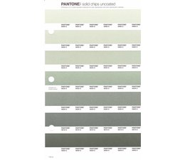 Pantone PMS Solid Chips vervangingspagina op uncoated papier 174U, kleurnummers 5665U - 5655U - 5645U - 5635U - 5625U - 5615U - 5605U