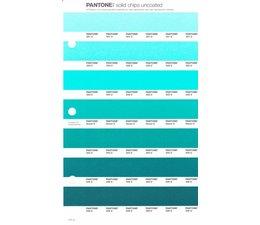 Pantone PMS Solid Chips vervangingspagina op uncoated papier 177U, kleurnummers 331U - 332U - 333U - Green U - 334U - 335U - 336U