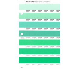 Pantone PMS Solid Chips vervangingspagina op uncoated papier 182U, kleurnummers 2246U - 2247U - 2248U - 2249U - 2250U - 2251U - 2252U