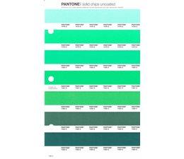 Pantone PMS Solid Chips vervangingspagina op uncoated papier 186U, kleurnummers 7478U - 7479U - 7480U - 7481U - 7482U - 7483U - 7484U