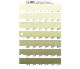 Pantone PMS Solid Chips vervangingspagina op uncoated papier 202U, kleurnummers 5807U - 5797U - 5787U - 5777U - 5767U - 5757U - 5747U