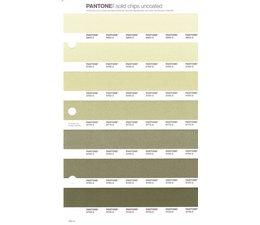 Pantone PMS Solid Chips vervangingspagina op uncoated papier 204U, kleurnummers 5803U - 5793U - 5783U - 5773U - 5763U - 5753U - 5743U