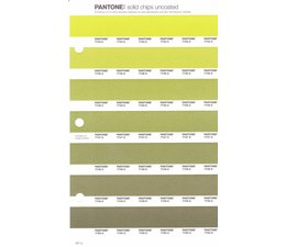 Pantone PMS Solid Chips vervangingspagina op uncoated papier 207U, kleurnummers 7744U - 7745U - 7746U - 7747U - 7748U - 7749U - 7750U