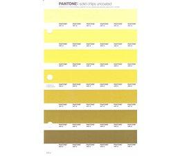 Pantone PMS Solid Chips vervangingspagina op uncoated papier 215U, kleurnummers 461U - 460U - 459U - 458U - 457U - 456U - 455U