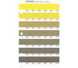 Pantone PMS Solid Chips vervangingspagina op uncoated papier 218U, kleurnummers 7758U - 7759U - 7760U - 7761U - 7762U - 7763U - 7764U