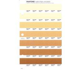Pantone PMS Solid Chips vervangingspagina op uncoated papier 225U, kleurnummers 7506U - 7507U - 7508U - 7509U - 7510U - 7511U - 7512U