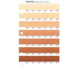 Pantone PMS Solid Chips vervangingspagina op uncoated papier 226U, kleurnummers 719U - 720U - 721U - 722U - 723U - 724U - 725U