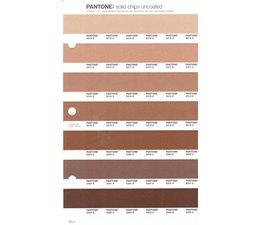 Pantone PMS Solid Chips vervangingspagina op uncoated papier 229U, kleurnummers 2316U - 2317U - 2318U - 2319U - 2320U - 2321U - 2322U