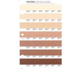 Pantone PMS Solid Chips vervangingspagina op uncoated papier 231U, kleurnummers 4685U - 4675U - 4665U - 4655U - 4645U - 4635U - 4625U