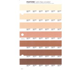 Pantone PMS Solid Chips vervangingspagina op uncoated papier 234U, kleurnummers 482U - 481U - 480U - 479U - 478U - 477U - 476U