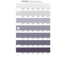 Pantone PMS Solid Chips vervangingspagina op uncoated papier 237U, kleurnummers 427U - 428U - 429U - 430U - 431U - 432U - 433U