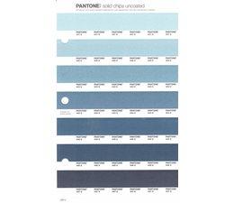 Pantone PMS Solid Chips vervangingspagina op uncoated papier 239U, kleurnummers 441U - 442U - 443U - 444U - 445U - 446U - 447U