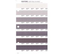 Pantone PMS Solid Chips vervangingspagina op uncoated papier 241U, kleurnummers 2330U - 2331U - 2332U - 2333U - 2334U - 2335U - 2336U