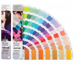 Pantone The +PLUS SERIES Formula Guides Coated & Uncoated