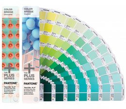 Pantone The +PLUS SERIES Colorbridge Guides Coated & Ucoated