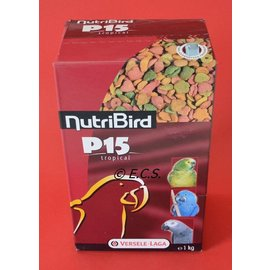 Nutribird P15 tropical 1 kg mix