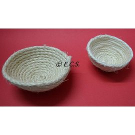 Sisal Nest Weiß