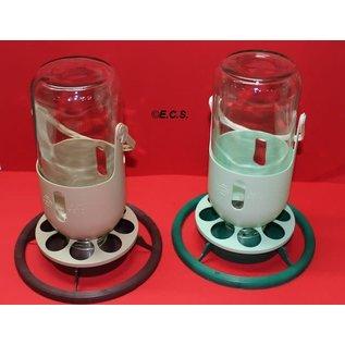 Fauna Mijnlamp met Glazen Fles