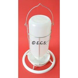 Mijnlamp Kunststof Wit