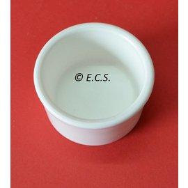 Round white bowl 5cm