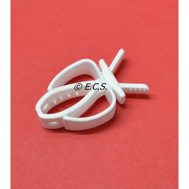 Sepia Pin Clamp White