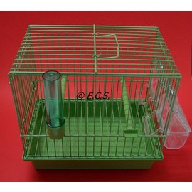 Transport cage Green 24 x 22 x 17 cm complete