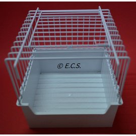 Baby Cage / Bath House With Door White