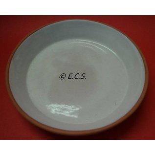 Bowl Stone Glaze Red / White