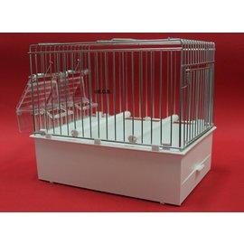 Transportkooi / Inzetkooi Wit 2Transport cage / Insert cage White 24 x 22 x 17 cm4 x 22 x 17 cm