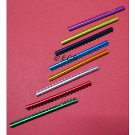 Knijpring metaal 2,5 mm Staafje van 20 Stuks