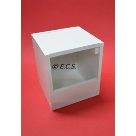 ECS Kunststof Nestkastje Lage Instap (gaat uit assortiment)