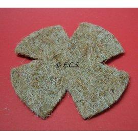 Sisal Fibre Sisal Fiber nest mat Cocos-Sisal 5 pieces