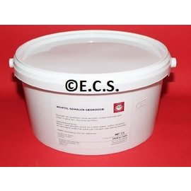 ECS ground dried root ECS