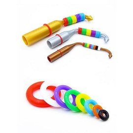Rings 4 Wings Color rings flexible starter set various sizes Color rings flexible starter set various sizes