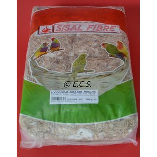 Sisal Fibre Sisal-Faser-Cocos-Sisal-Jute-Cotton-Mos 500gr
