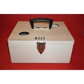 ECS transport box with flap