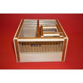 ECS Runner Wood Square Single Box