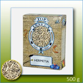 Top Insect Hermetia (soldier fly larvae frozen)