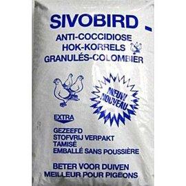 Sivobird vloerdekkorrel (anti-coccidiose)