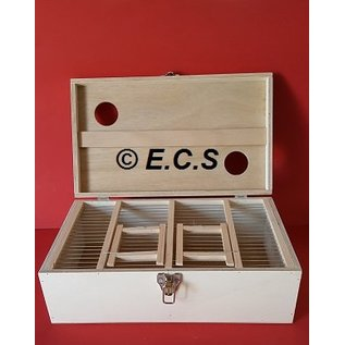 ECS Vervoerskist met klep 2 vaks