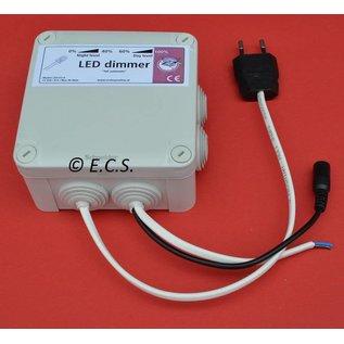 ECS Led-dimmer 12V 8A 96W