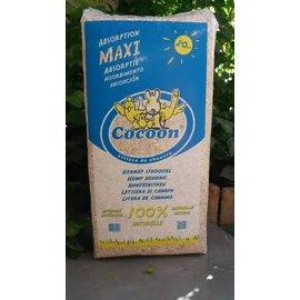Cocoon Aubiose (hennepstro) bodembedekker 20 kg Baal