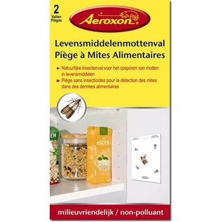 Aeroxon Motten van per 2 verpakt