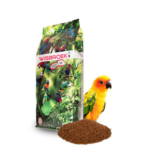 Wisbroek Parrot Fruit Blend Daily Small 1Kilo