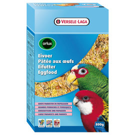 Orlux Eivoer droog grote parkiet & papegaai 800g THT 11-21