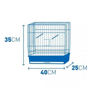 Kooi natalia 1 Wit/wit 40x25x35cm