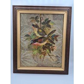 Copy of Copy of Vogel Schilderij op tabaksbladeren (J)