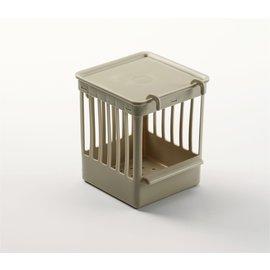 Lattice-Nest Box Plastic Beige